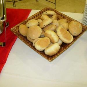 Cestino a pane quadrato in vimini