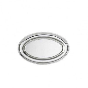 Vassoio ovale argento