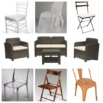 Sedie e sedute varie
