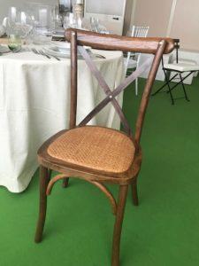 sedia toscana croce