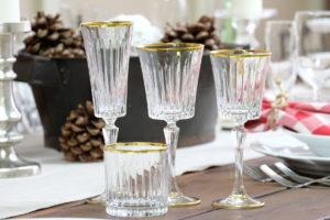 Calici e Bicchieri Filo Oro